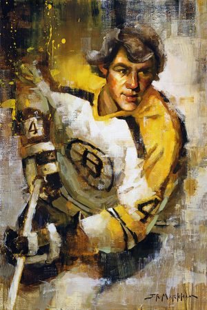 Bobby Orr Painting Canvas Art Print