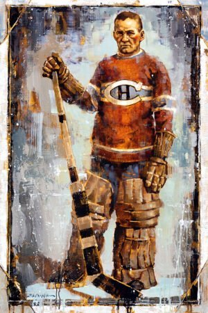 Georges Vézina hockey art