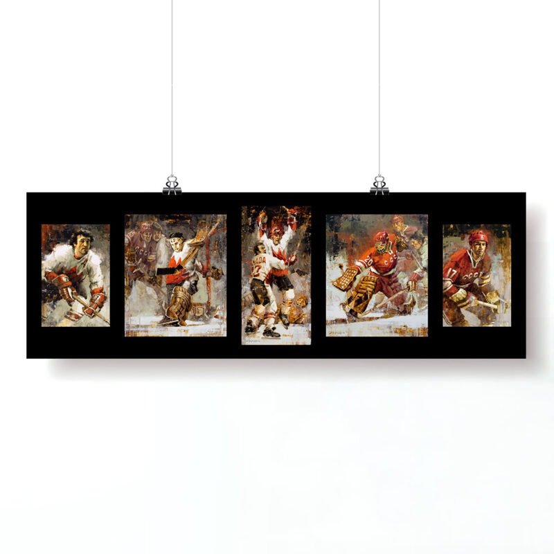 Summit Series poster hockey wall art 5 in 1