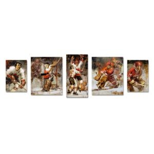 Summit Series posters set of 5 hockey wall art