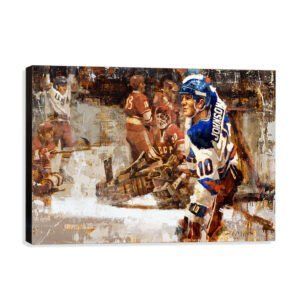 Team USA Hockey Wall Art Canvas Print Mark Johnson