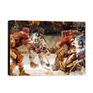 Team USA Hockey Wall Art Canvas Print