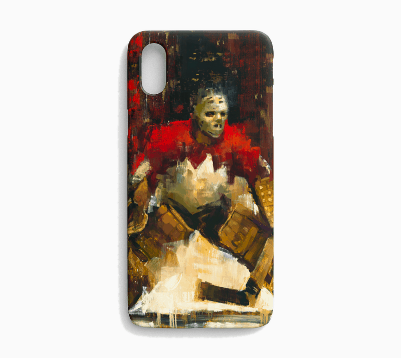 Tony Esposito Phone Case Team Canada Hockey