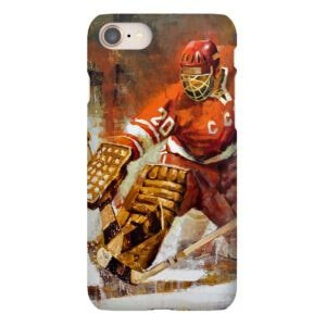 Vladislav Tretiak phone case soviet hockey russia summit series