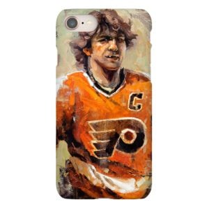 Bobby Clarke phone case Philadelphia Flyers broad street bullies