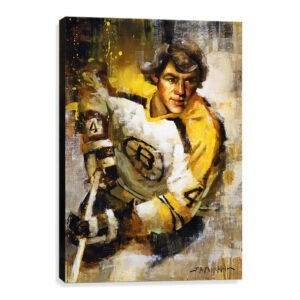 Bobby Orr art print boston bruins gift