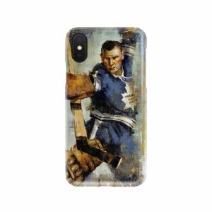 Johnny Bower iphone case