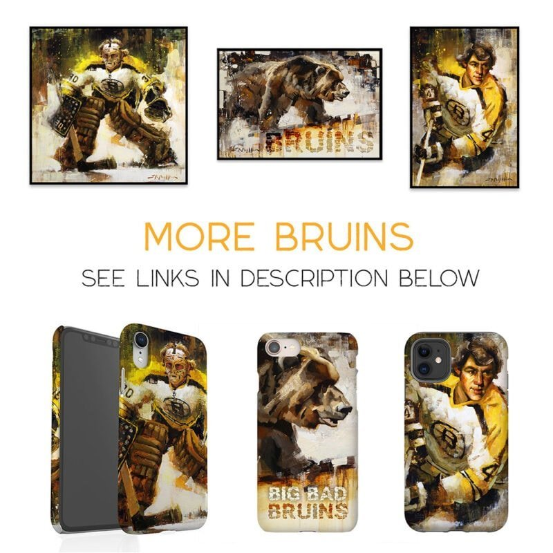 Boston Bruins Gifts Bruins Art