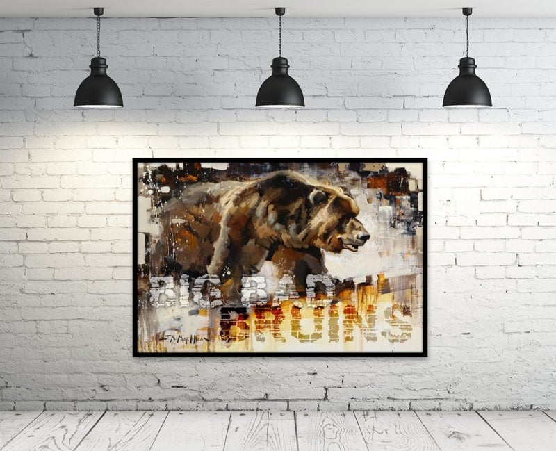 bruins wall art