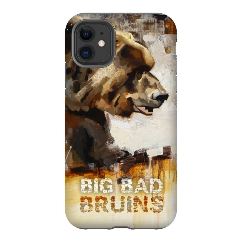 bruins grizzly phone case