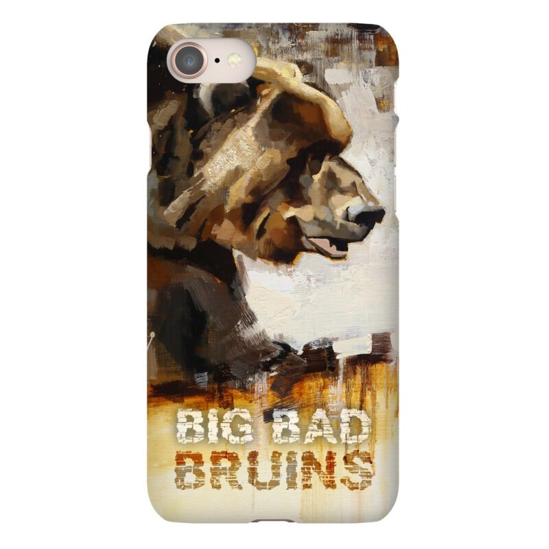 bruins grizzly phone case boston bruins gift
