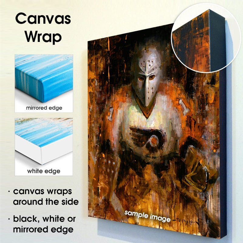 canvas wrap options