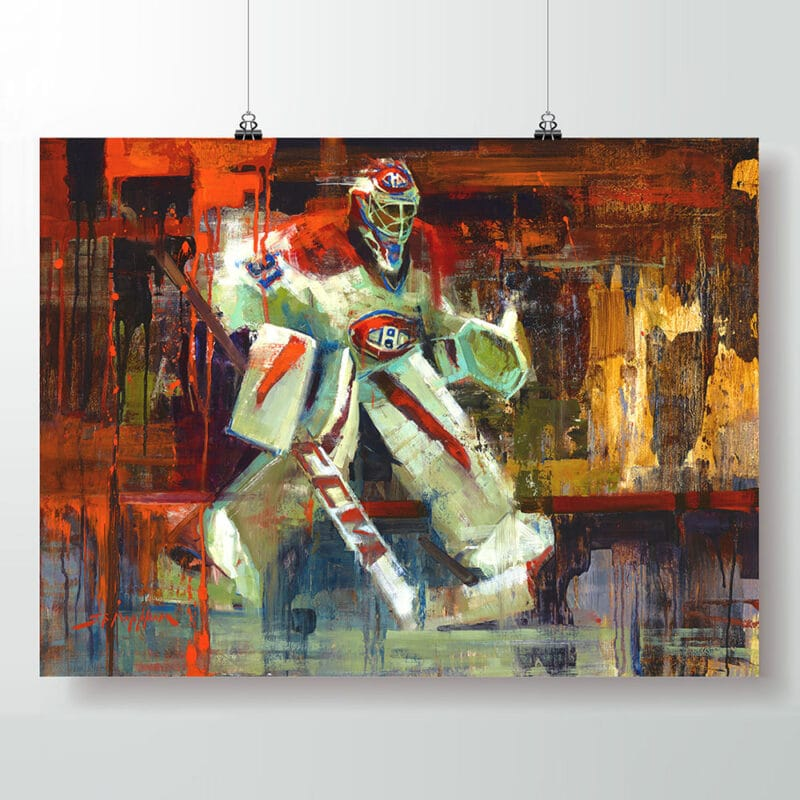 carey price poster montreal canadiens art print
