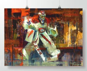 Carey Price Montreal Canadiens poster print gift