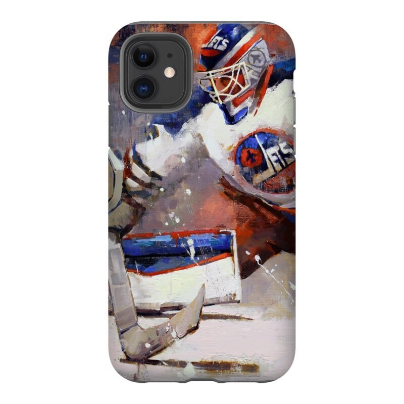 connor hellebuyck winnipeg jets phone case