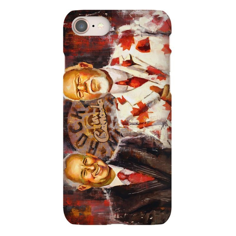 don cherry and ron maclean hockey night in canada coaches corner phone case