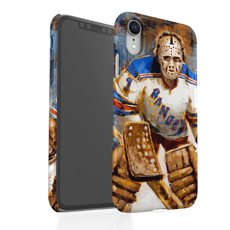 ed giacomin new york rangers phone case