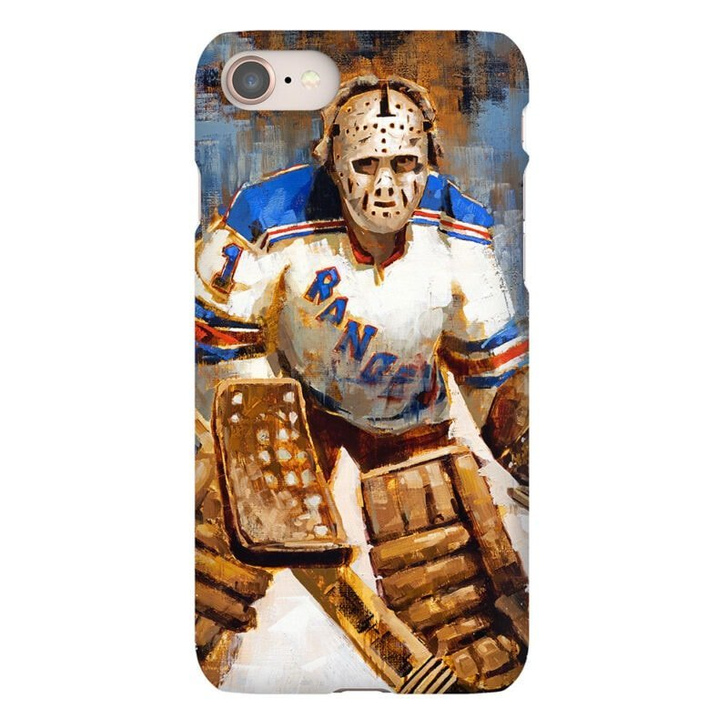 ed giacomin new york rangers phone case new york rangers gift