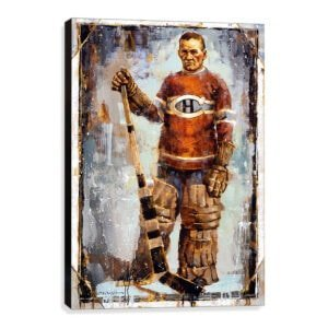 Georges Vezina art print montreal canadiens