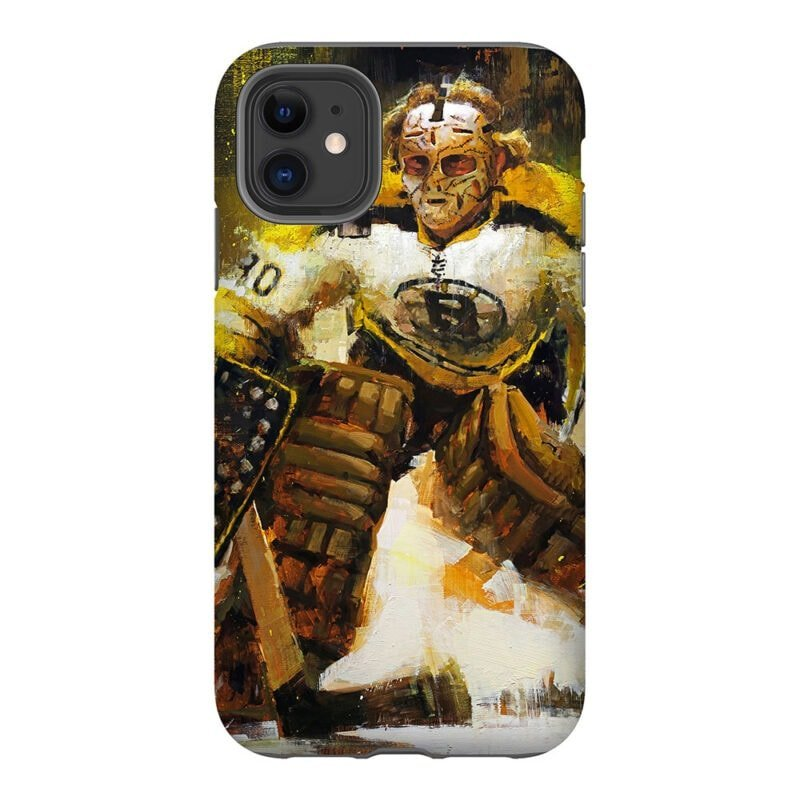 gerry cheevers boston bruins phone case