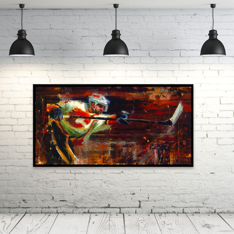 mark giordano calgary flames wall art gift