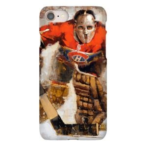 jacques plante montreal canadiens phone case