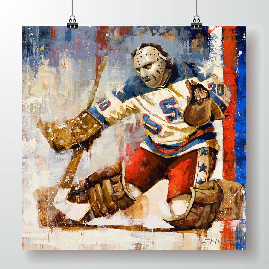 Jim Craig Team USA Hockey Poster Wall Art