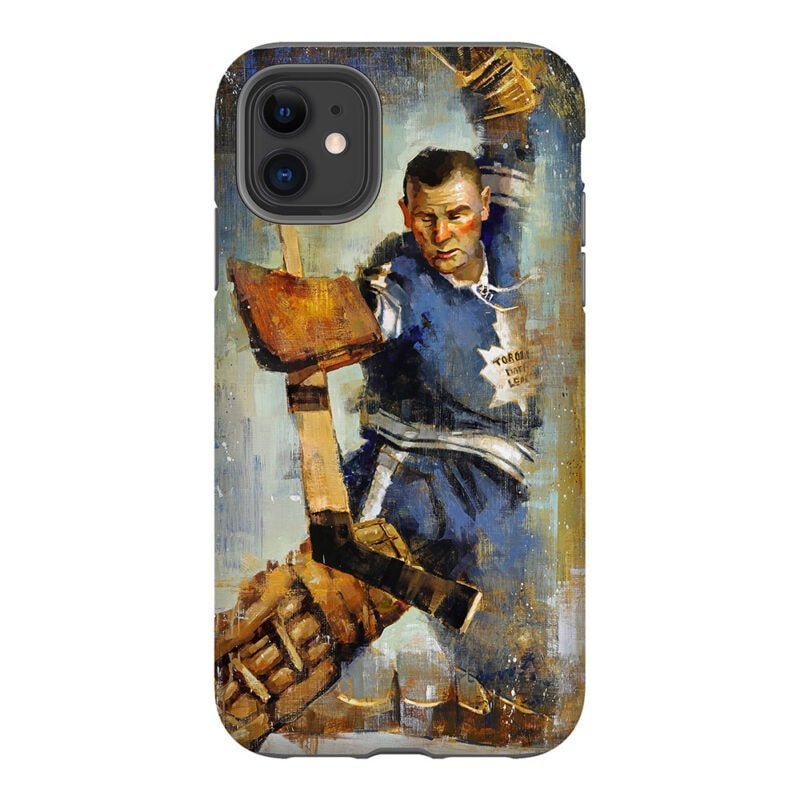 johnny bower toronto maple leafs phone case