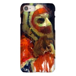 ken dryden closeup phone case