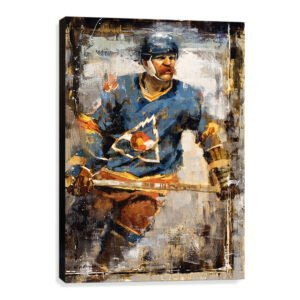 Lanny McDonald wall art