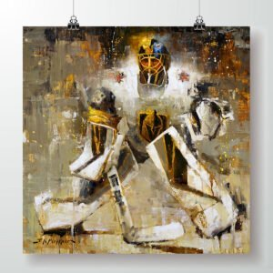 Marc-Andre Fleury poster las vegas golden knights art print gift