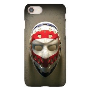 ken dryden goalie mask iphone case