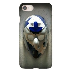 mike palmateer goalie mask iphone case