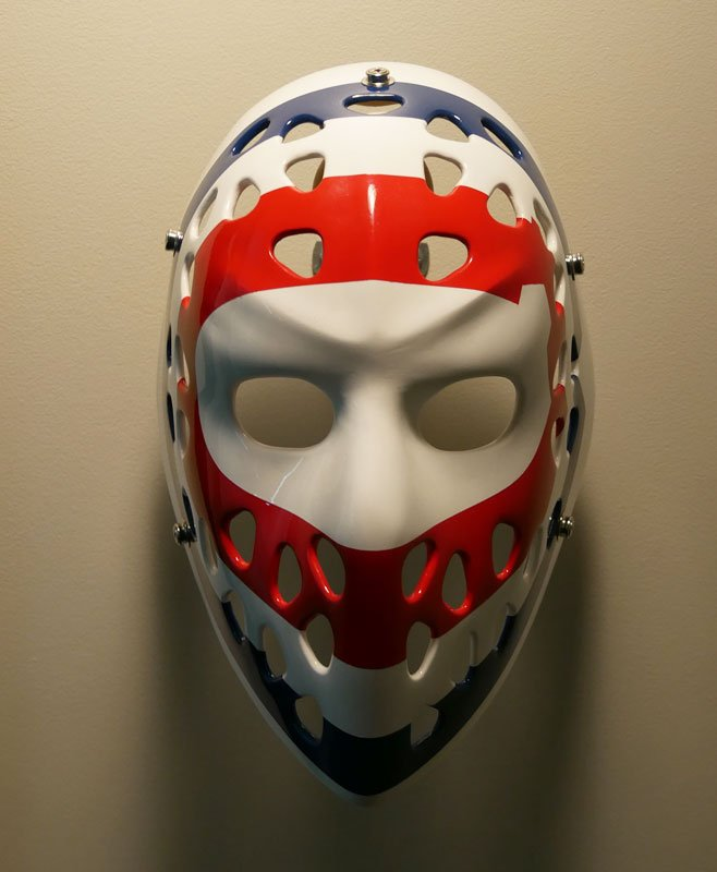hockey mask wall display