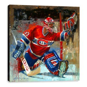 Patrick Roy Art Print Montreal Canadiens gift