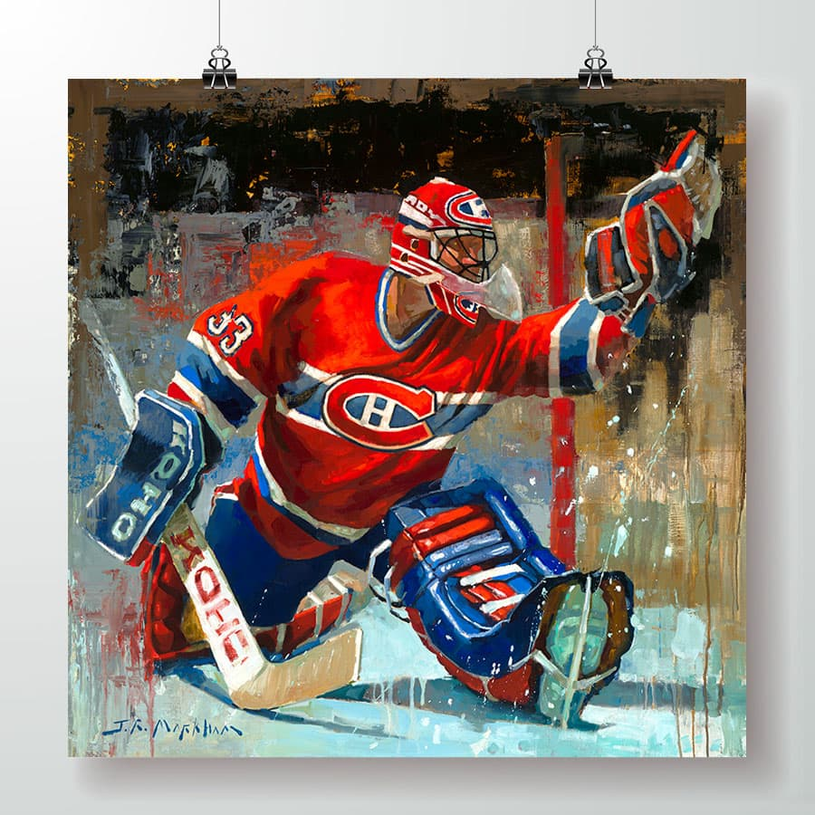 Patrick Roy Montreal Canadiens poster print gift
