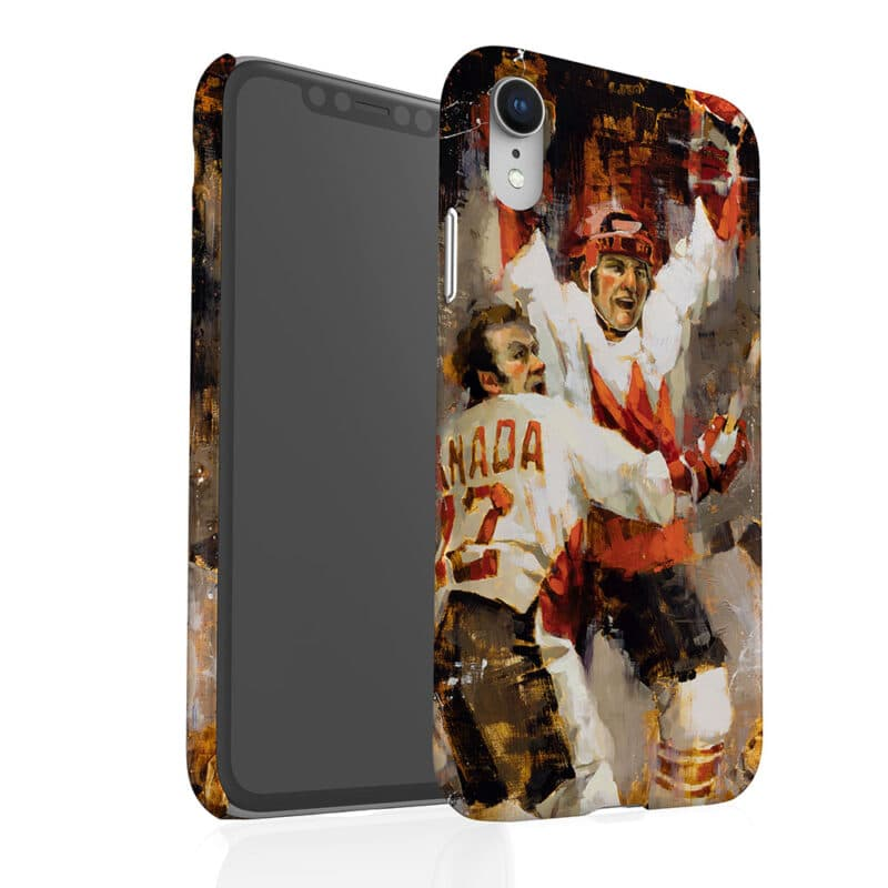 Paul Henderson phone case summit series