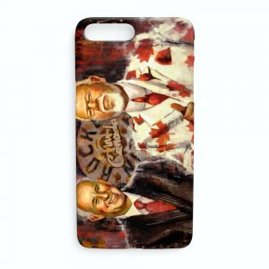 Ron MacLean and Don Cherry iPhone Case