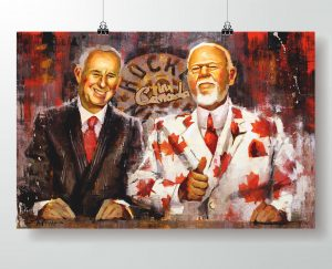 Ron MacLean and Don Cherry Poster