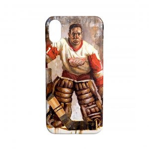 Terry Sawchuk Detroit Red Wings Phone Case