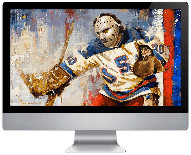 Hockey USA Screen Background