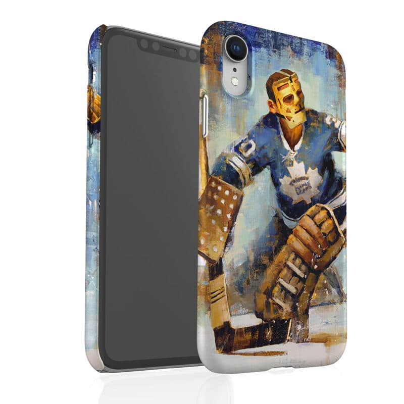 terry sawchuck maple leafs phone case